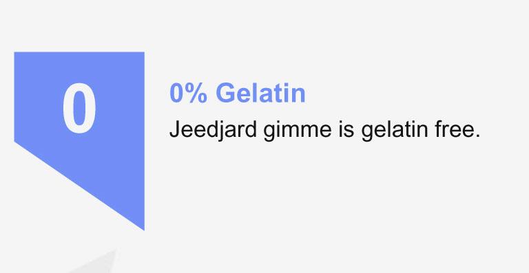 0% gelatin