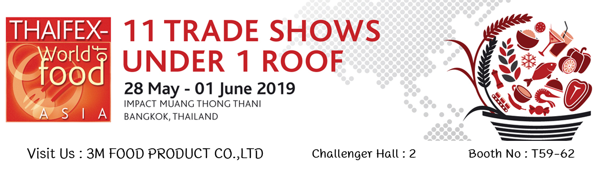 Thaifex 2019 3mfoodproduct Booth